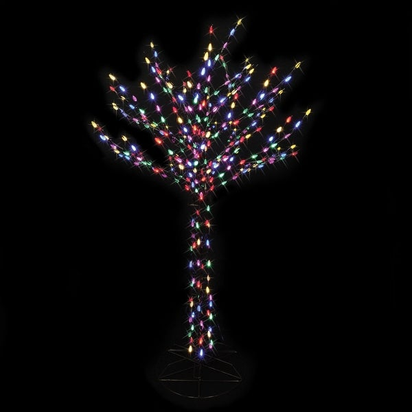 celebrations 7407200ac bare branch tree led christmas decoration multicolored