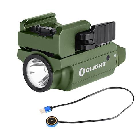 Olight PL-MINI 2 Valkyrie 600 Lumen Rechargeable Rail Light (OD Green)