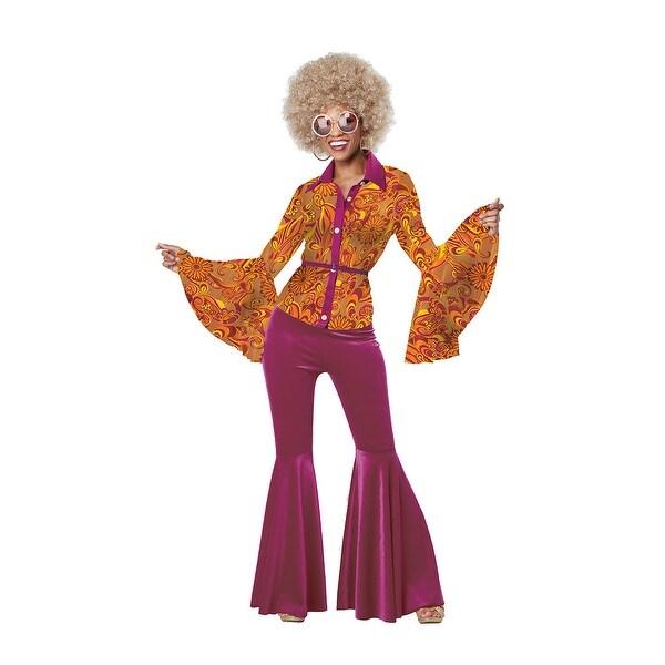 a2857c7101 Funky Disco Diva Costume, Hoty 70s Costume
