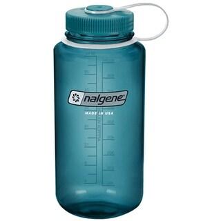 Nalgene Tritan 32-Ounce Wide Mouth Bottle, Cadet