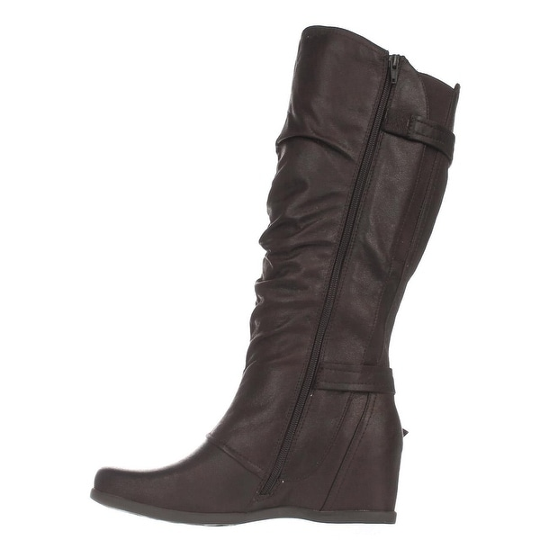 Bare Traps Womens Quivina Closed Toe Mid-Calf Fashion Boots