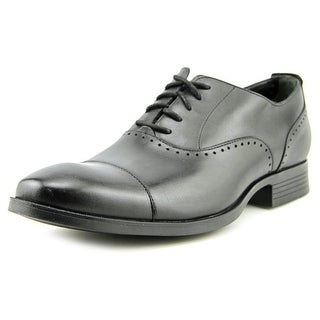 Cole Haan Copley.Cap.Toe.Ox Men Round Toe Leather Black Oxford