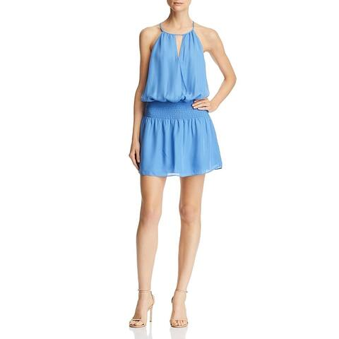 Parker Womens Larissa Casual Dress Silk Blend Sleeveless - Provence