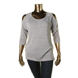 Two by Vince Camuto Womens Knit Hi-Low Pullover Sweater - XL