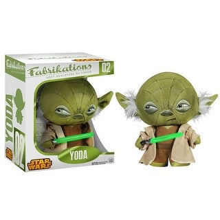 Fabrikations Star Wars Soft Sculpture Yoda Funko Plush Figure