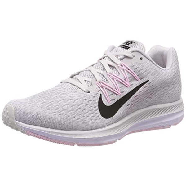 reputable site 7b72a be0e5 Nike Womens Zoom Winflo 5 Running Sneakers Vast Grey/Atmosphere Grey/Pink  Foam/Black AA7414-013 (8 B US)