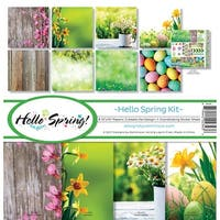 "Reminisce Collection Kit 12""X12""-Hello Spring"