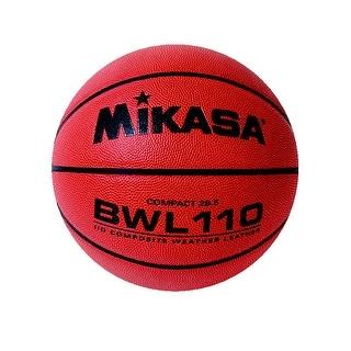 Mikasa BWL110 Women's 28-1/2 in Premium Composite Leather Basketball