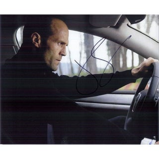 Signed Statham Jason 8x10 Photo autographed
