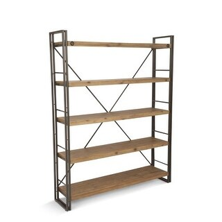 """Moes Home Collection WN-1011 Brooklyn 59"""" Wide Shelving Unit"""