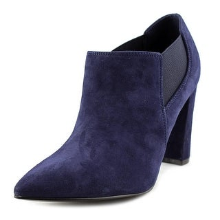 Marc Fisher Hydra Pointed Toe Suede Bootie