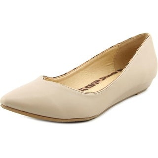CL By Laundry Shanice Women Pointed Toe Synthetic Flats