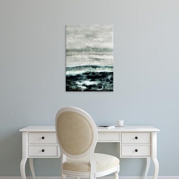 Easy Art Prints Iris Lehnhardt's 'Abstract Waterscape' Premium Canvas Art