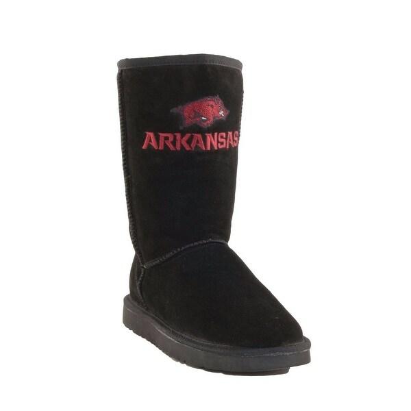 Gameday Boots Womens University Arkansas Roadie Black ARK-RL1002-2