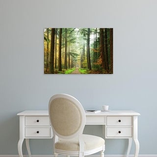 Easy Art Prints Lars Van de Goor's 'Divide' Premium Canvas Art