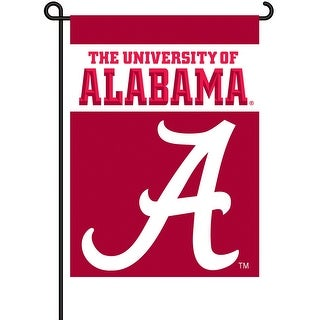 University of Alabama Crimson Tide Garden Flag