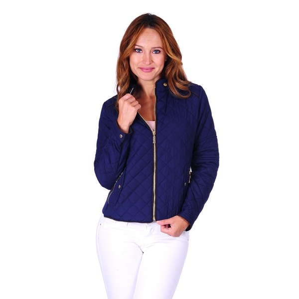 Simply Ravishing Women's Lightweight Quilted Jacket (Size S - 3X)