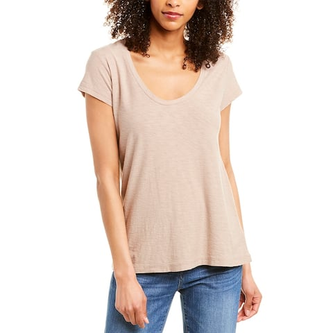 James Perse Scoop Neck Shirt