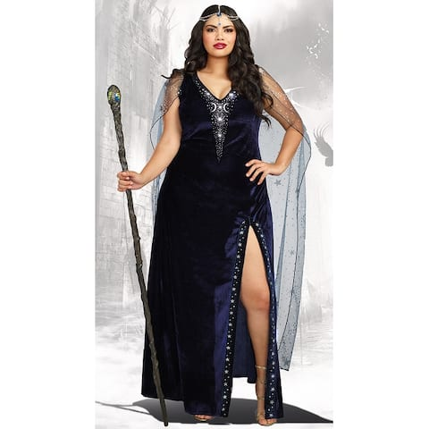 Plus Size The Sorceress Costume - As Shown