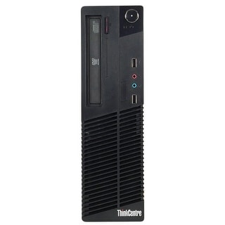 Lenovo ThinkCentre M81 Desktop Computer SFF Intel Core I5 2400 3.1G 16GB DDR3 1TB Windows 10 Pro 1 Year Warranty (Refurbished)