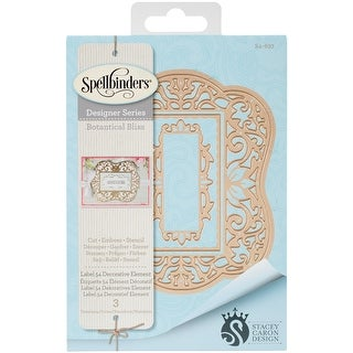 Spellbinders Nestabilities Decorative Elements Dies-Label 54