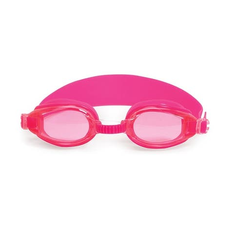 """6.25"""" Pink Advantage Goggles Swimming Pool Accessory for Juniors"""
