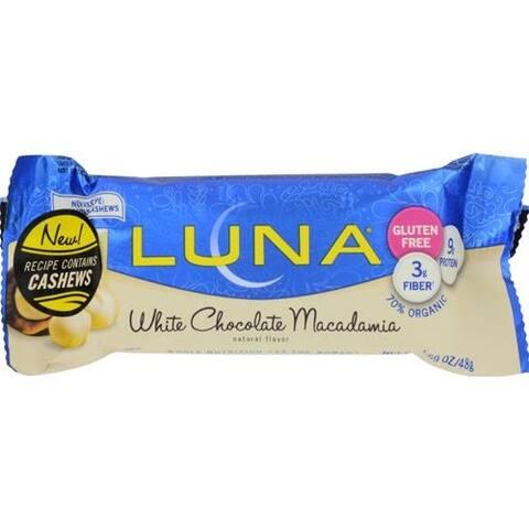 Clif Bar - Organic White Chocolate Macadamia Nut Luna Bar ( 15 - 1.69 OZ)