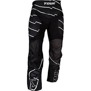 Tour Hockey Mens Code Active Youth Hockey Pants, Black, L