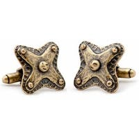 Bronze Badge Cufflinks