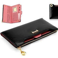Stylish Leather Wallet  For Ladies 18 Total Credit Card Slots