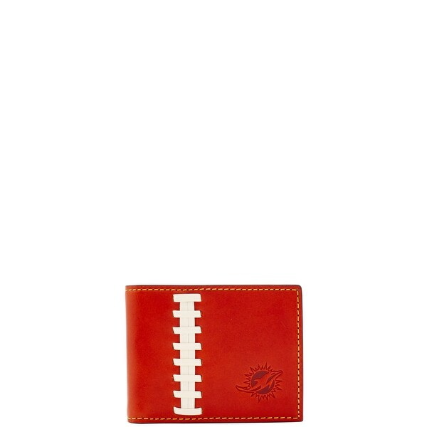Dooney & Bourke NFL Miami Dolphins Credit Card Billfold (Introduced by Dooney & Bourke at $78 in Aug 2017)