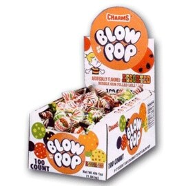 Charms Blow Pops assorted 100 ct