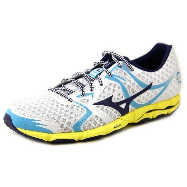 Mizuno Wave Hitogami Round Toe Synthetic Running Shoe