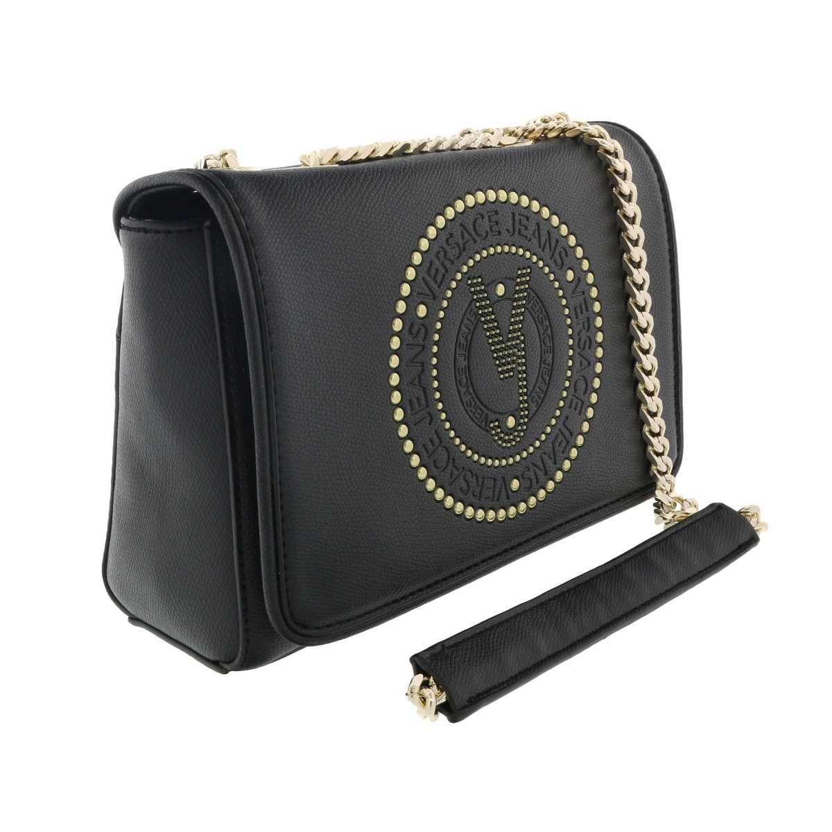 Versace Black Wristlet//Shoudler Bag-EE1VTBBF4 E899