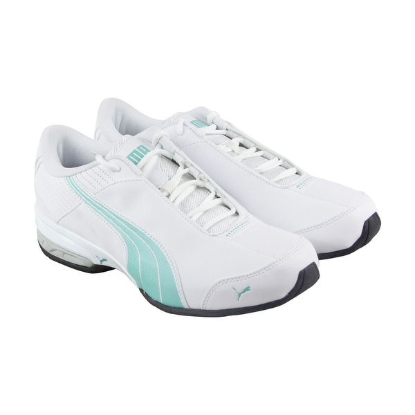 Puma Super Elevate Womens White Synthetic Athletic Lace Up Running Shoes