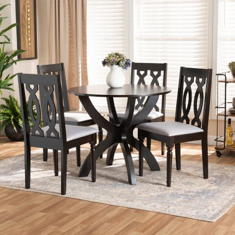 Mona Modern and Contemporary 5-Piece Dining Set