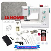 Janome Sewist 500 Sewing Machine with Exclusive Bonus Bundle