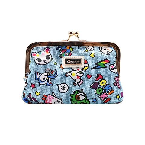 Tokidoki Denim Daze Kisslock Coin Purse - One Size Fits most