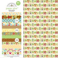 """Doodlebug Paper Plus Value Pack 12""""X12"""" 8/Pkg-Home"""