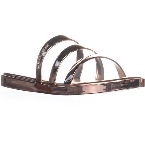 MICHAEL Michael Kors Keiko Slide Sandals, Rose Gold