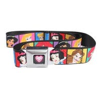 Disney Princess Blocks Seatbelt Belt-Holds Pants Up