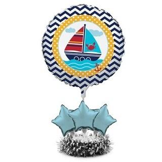 Creative Converting Ahoy Matey Balloon Centerpiece Kits - Case of 4