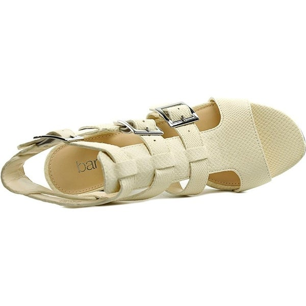Bar III Womens Kara Open Toe Casual Strappy Sandals