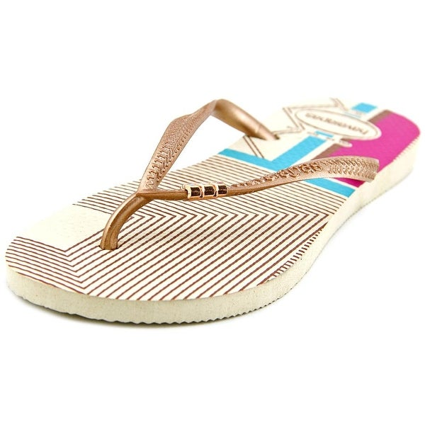 Havaianas Slim Open Toe Synthetic Flip Flop Sandal