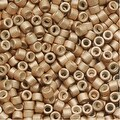 Miyuki Delica Seed Beads 11/0 Galvanized Silver Frost Champagne DB1152 7.2 Grams - Thumbnail 0