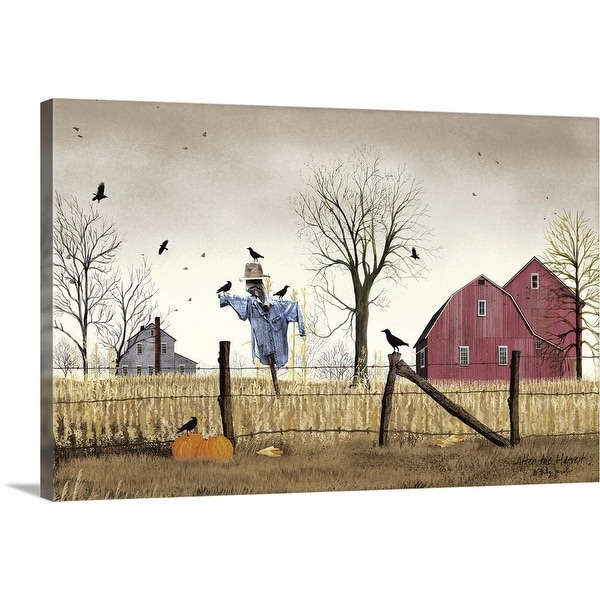 """""""After the Harvest"""" Canvas Wall Art"""