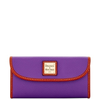 Dooney & Bourke Pebble Grain Continental Clutch (Introduced by Dooney & Bourke at $128 in Oct 2016)
