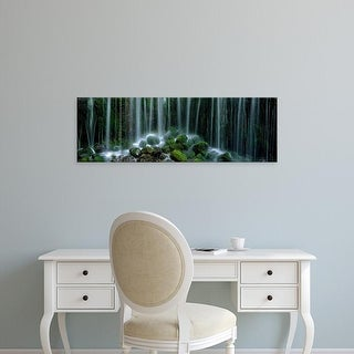 Easy Art Prints Panoramic Images's 'Shiraito Falls Japan' Premium Canvas Art