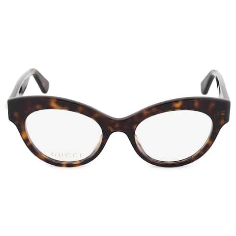 42a7b154731 Gucci Gucci Cat Eye Eyeglass Frames GG0030O 002 49