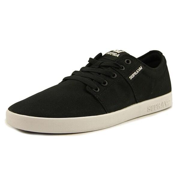 Supra Stacks II Mens Black-White Skateboarding Shoes